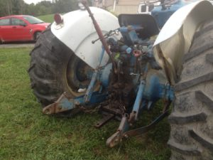 """A three point hitch is a critical """"must have"""" for most tractors nowadays."""