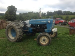 This is a an older 65 horsepower tractor that would be a good choice for a new and small farm. All photos by Rich Taber