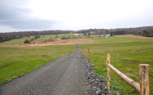 Marquis organic dairy trails and walkways