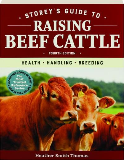 """A cover of the book """"Storey's Guide to Raising Beef Cattle."""""""